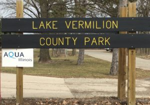 Lake Vermilion County Park Sign