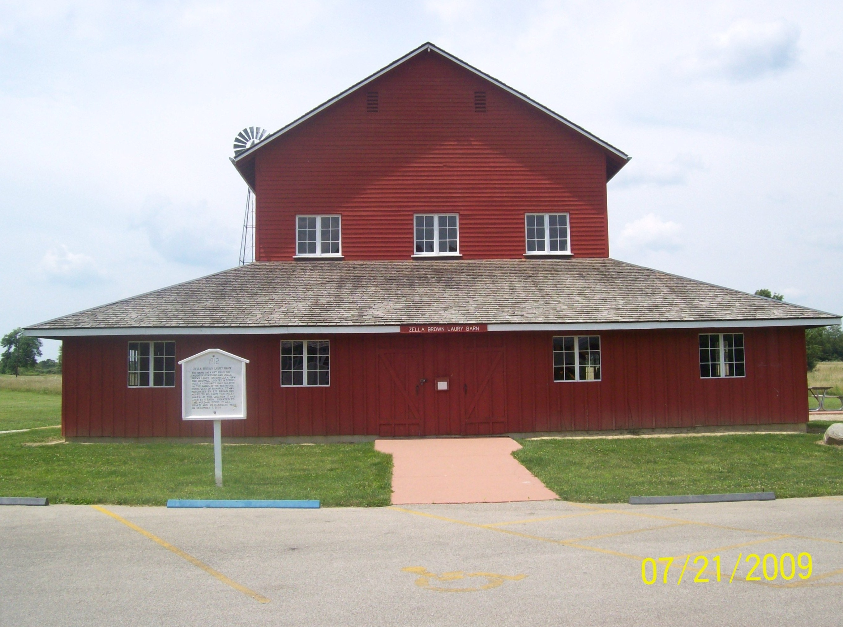 Laury Barn Exterior