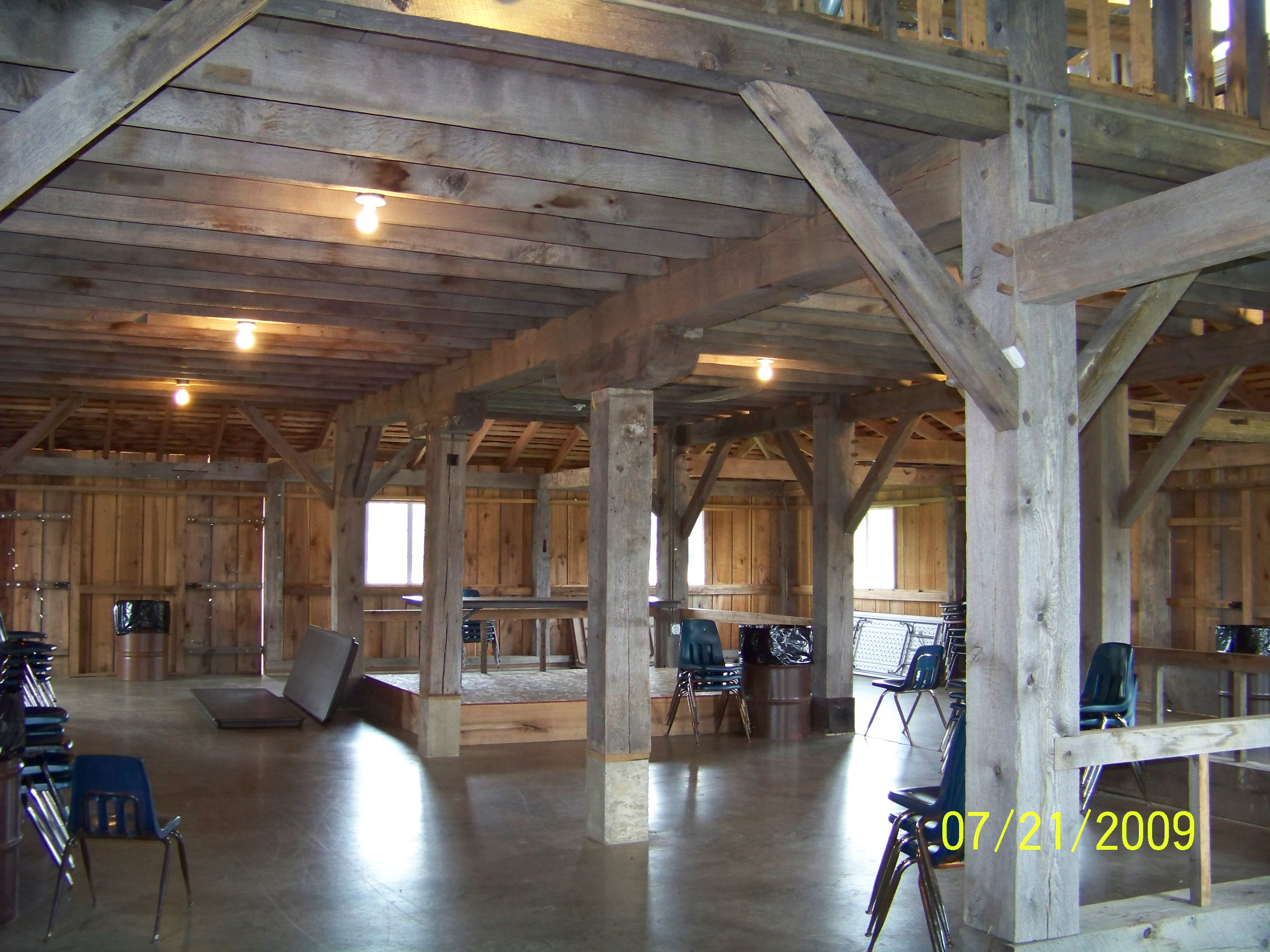 Laury Barn inside