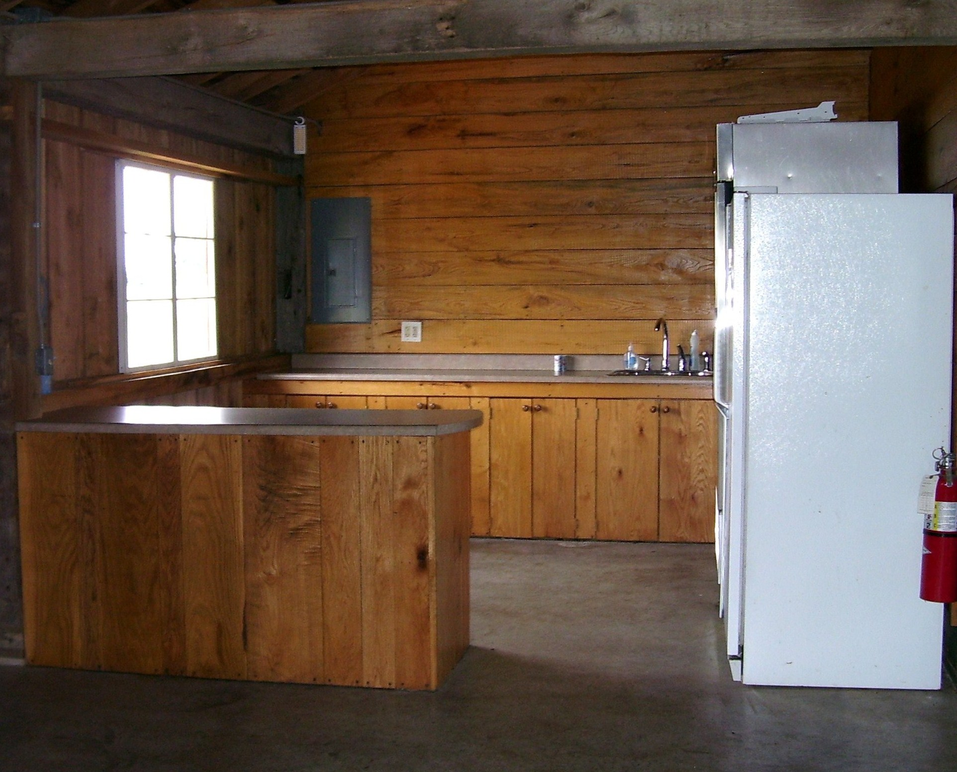 Laury Barn Kitchen area