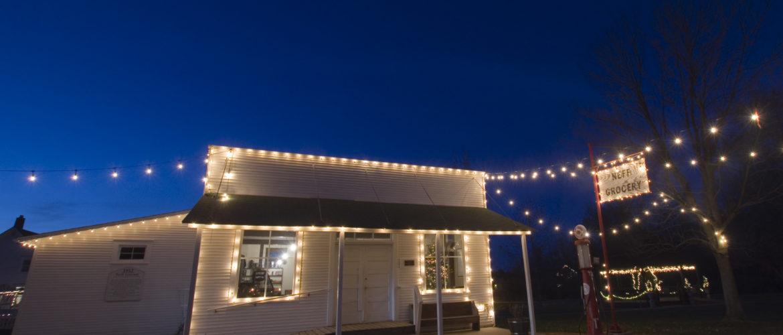 Neff Store Holiday Lights