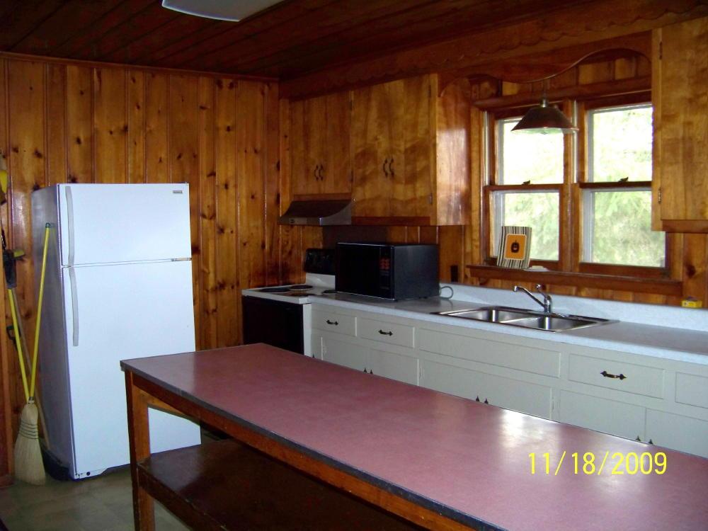 Hideaway kitchen